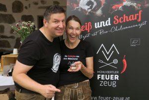Herr und Frau Dlapka von Mühlviertler Feuerzeug