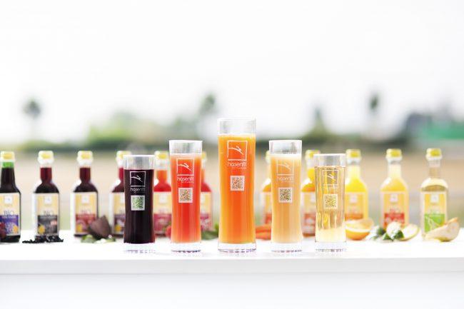 Hasenfit Bio Fruchtsäfte in Gläsern und Flaschen