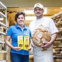 Brigitta und Martin Bräuer von der Naturbäckerei Bräuer
