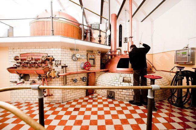Historisches Sudhaus der Brauerei Hofstetten