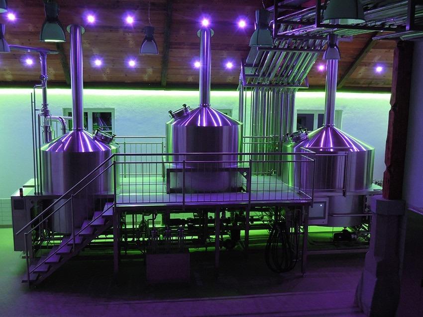Neues Sudhaus der Brauerei Hofstetten