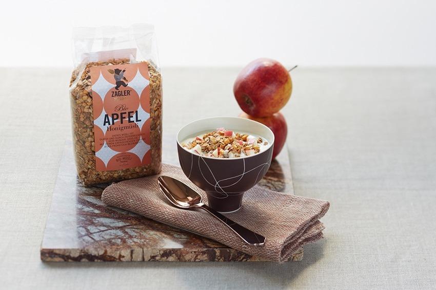 Bio-Apfel-Honigmüsli von Zagler Müslibär