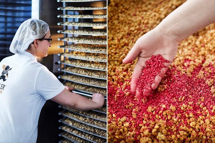 Müsli-Produktion bei Zagler Müslibär