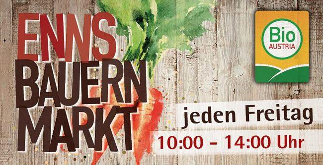 Bio Austria Bauernmarkt in Enns