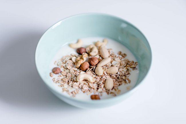 Joghurt mit Müsli (Foto von Ernährungsliebe)