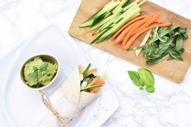 Gemüse-Wrap von Ernährungsliebe