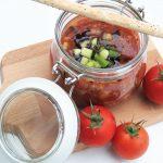 Kalte Tomatensuppe von Ernährungsliebe
