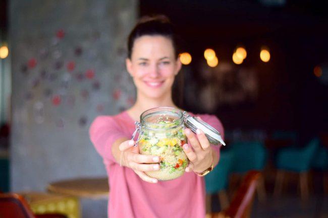Marlene mit Couscous-Salat von Ernährungsliebe