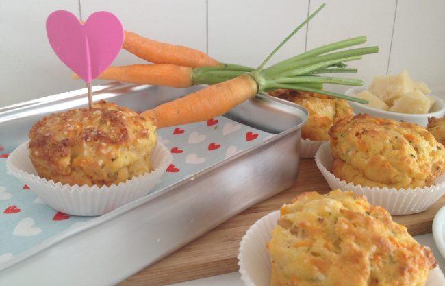 Energy Karottenmuffins von My Kitchen Logbook by Marlene Grünzweil