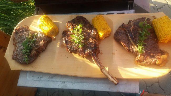 Dreierlei Steak von Günther Marschik