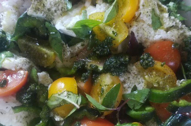 Salat mit Pesto von Bianca Purrer
