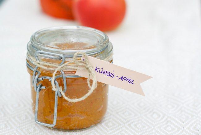Kürbis-Apfel Marmelade von Ernährungsliebe