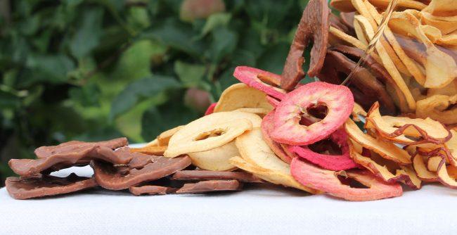 Apfelringe von Stroblobst